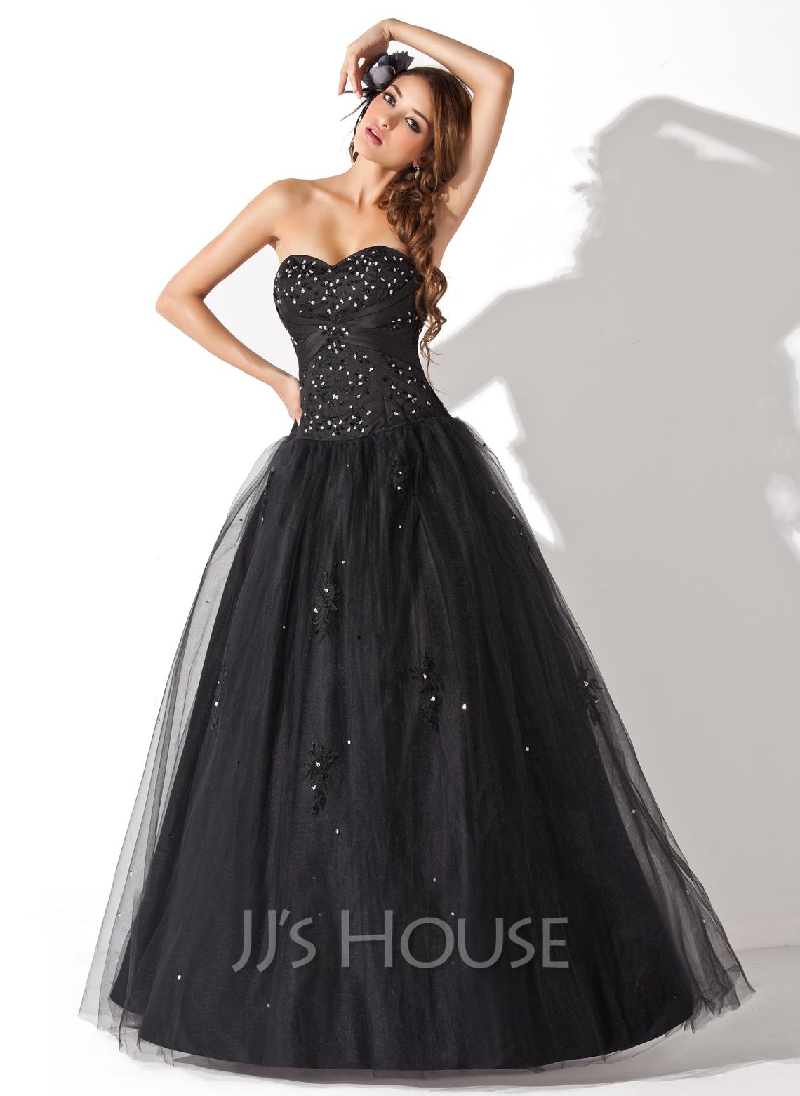 Платье Черное Пышное Купить