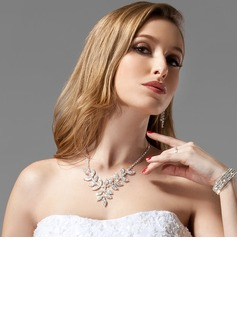 Joyas (Gorgeous Alloy With Czech Rhinestones Wedding Bridal Jewelry)