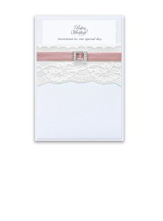 Classic Style Wrap & Pocket Invitation Cards (set of 50) (118040278)