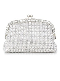 Shining Crystal/ Rhinestone With Metal Clutches (012027410)