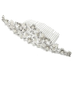 Exquisite Alloy/Imitation Pearls Combs & Barrettes