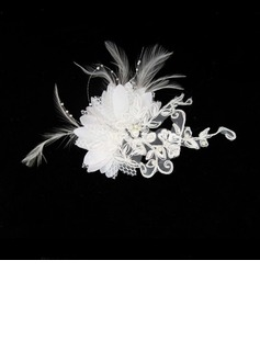 Gorgeous Satin/ Lace Wedding Bridal Headpiece (042012232)