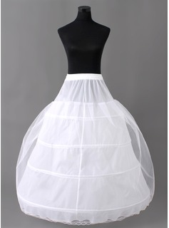 Nylon / Tulle Floor-length Wedding Petticoats (037004073)