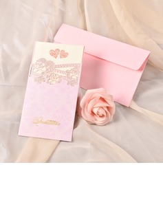 Heart Style Flat Card Invitation Cards (set of 50) (118040265)