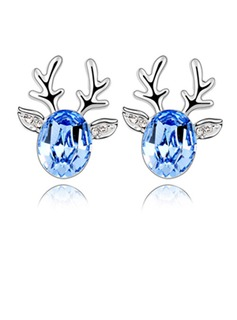 Alloy/Crystal Ladies' Earrings