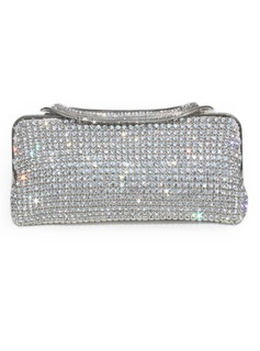 Gorgeous Metal With Czech Stones Clutches