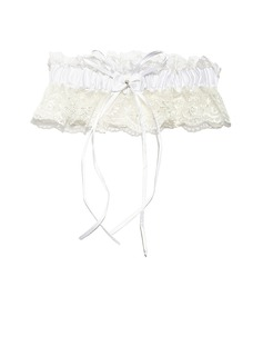 Delicate Lace With Rhinestone Wedding Garters