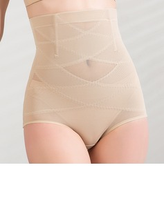 Cotton/Chinlon High Waist Shaping Panties