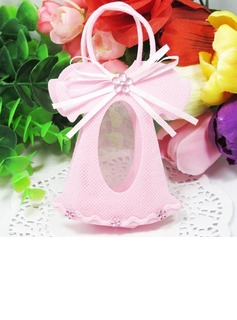 Dress Design Favor Bags With Ribbons (Set of 12)