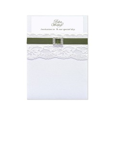 Classic Style Wrap & Pocket Invitation Cards (set of 50) (118040277)