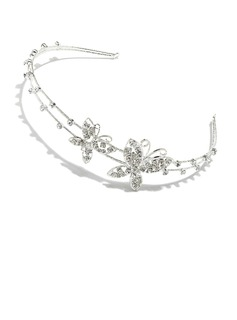 Simple Butterfly Rhinestone/Alloy Headbands