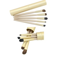 5 Pcs Makeup Brush Set With Cylinder (3 Color)