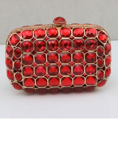 Shining Acrylic With Acrylic Jewels Clutches/Evening Handbags (012027401)