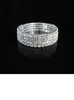 Luxurious Alloy With Rhinestone Ladies' Bracelets
