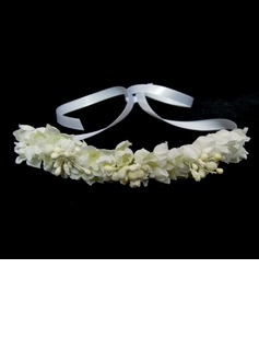 Satin With Silk Flower Women's Headbands (042025245)