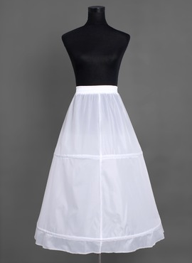 Women Nylon Floor-length 1 Tiers Petticoats (037004071)