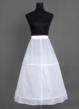 Women Nylon Tea-length 1 Tiers Petticoats (037004071)