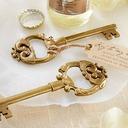 Schlüssel zu meinem Herzen Schlüssel Form Flaschenöffner mit Etikett (052051315)