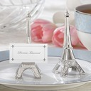 Eiffel Tower Design Resin Place Card Holders (Set of 6) (051050525)