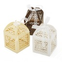 Beautiful Favor Boxes With Ribbons  (050055108)