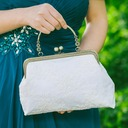Elegant Lace/Cloth Clutches (012082781)