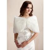 Faux Fur Wedding Wrap (013003848)