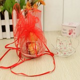 Lovely Favor Holders With Ribbons (Set of 12)