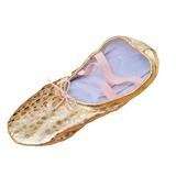 Women's Kids' Leatherette Flats Ballet Dance Shoes