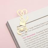 Gold Monkey Zinc Alloy Bookmarks