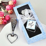 Classic Hearts Shape Beer Bottle Openers With Ribbons (052013744)
