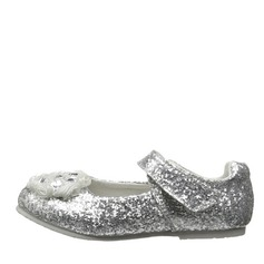 Girl's Baby's Sparkling Glitter Flat Heel Closed Toe Flats With Sparkling Glitter