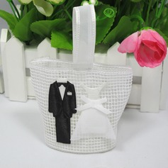 Bride & Groom Favor Bags (Set of 12)