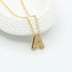 Letter Metal Fashion Necklace