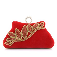 Charming Suede Clutches/Wristlets