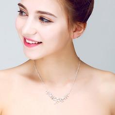Attractive Alloy/Pearl/Crystal Ladies' Necklaces