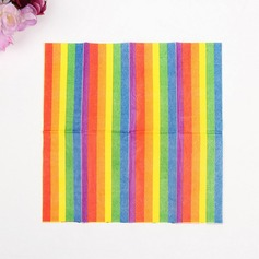 Beautiful Rainbow Dinner Napkins  (122039573)
