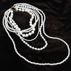 Gorgeous Imitation Pearls Ladies' Fashion Necklace