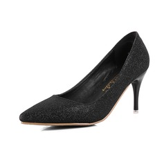 Kvinner Glitrende Glitter Stiletto Hæl Pumps med Glitrende Glitter sko