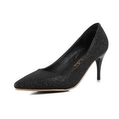 Kvinnor Glittrande Glitter Stilettklack Pumps med Glittrande Glitter skor