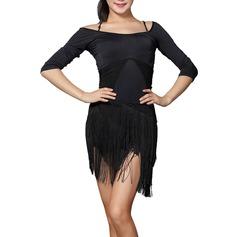 Женщины Одежда для танцев полиэстер Латино Инвентарь