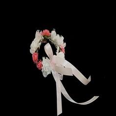 Cute Round Paper Wrist Corsage