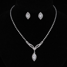 Beautiful Alloy/Rhinestones/Zircon Women's/Ladies' Jewelry Sets