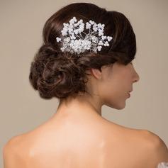 Elegant/Handmade Alloy/Imitation Pearls Combs & Barrettes