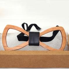 Modern Wood Bow Tie