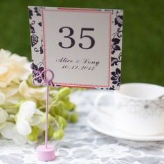 Personalized Elegant Card Paper Table Number Cards (Set of 10)