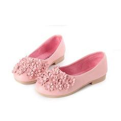Jentas Leather flat Heel Round Toe Mary Jane Flate sko