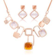 Elegant Alloy With Rhinestone Women's/Ladies' Jewelry Sets