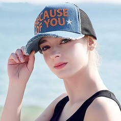 Ladies' Lovely/Fashion Polyester Baseball Cap