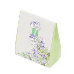 Flower Design Favor Boxes (Set of 12)