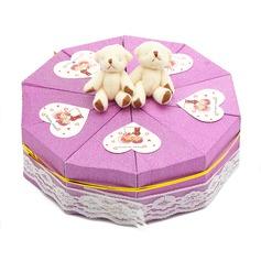 Cute Bear Pyramid Favor Boxes